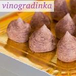 Шоколадно-апельсиновые трюфели