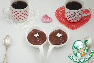 Рецепт: Пикантный шоколадный крем