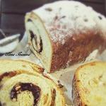 Сладкий хлеб с орехами и шоколадом