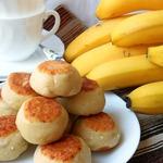 Творожные булочки с бананом и шоколадом
