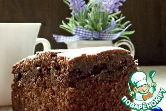 Рецепт: Манник Шоколад в шоколаде