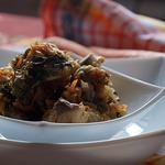 Рыбный микс с луком и морковью