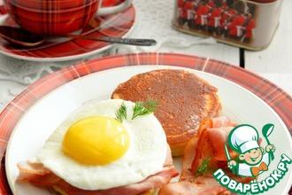 Рецепт: Крампеты Английский завтрак