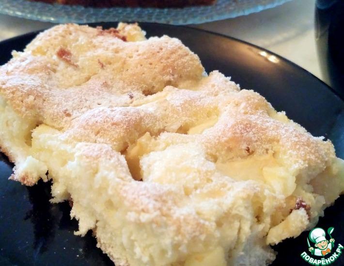 Рецепт: Пирог Заливные яблоки