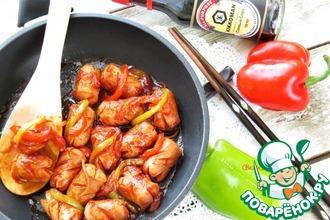 Рецепт: Сосиски по-корейски