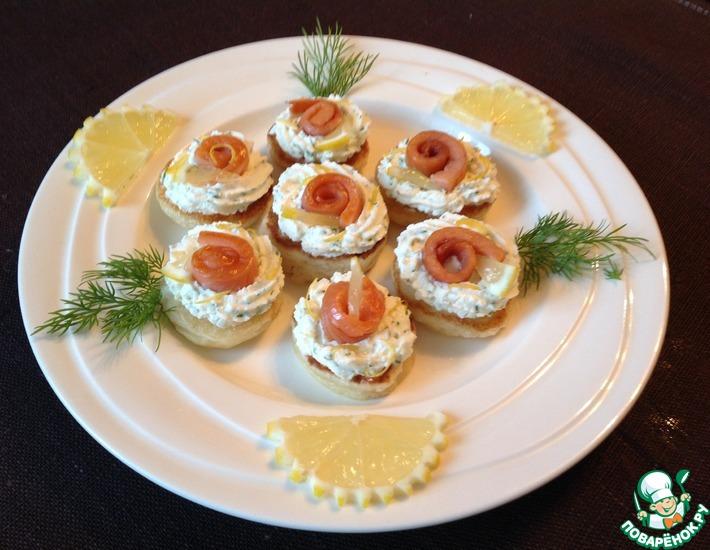 Рецепт: Закусочные мини-оладьи