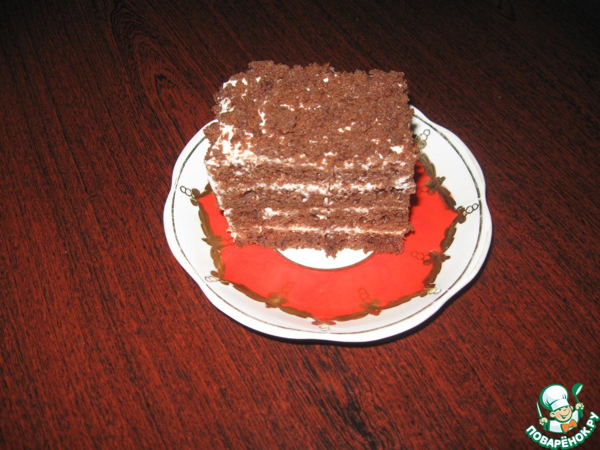 """Торт """"Шоколадный поцелуй"""""""