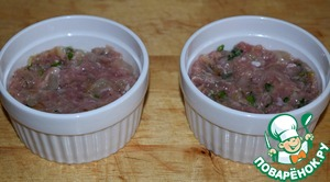 It is very convenient to cook and serve this casserole and portioned.