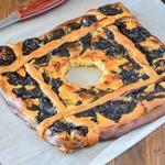 Быстрый пирог со сливочным сыром