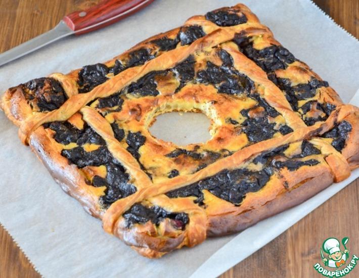 Рецепт: Быстрый пирог со сливочным сыром