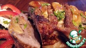 Приготовленное по этому рецепту блюдо и гостям смело можно предложить! Время приготовления указано без учета маринования.