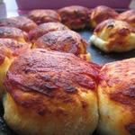 Булочки с курицей и сыром