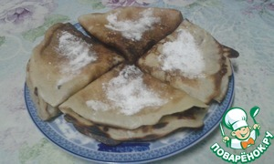 Or serve immediately with sour cream, powdered sugar, condensed milk or with something else))   Bon appetit! :D