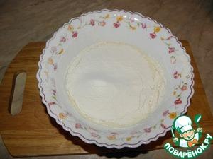 Sift the flour