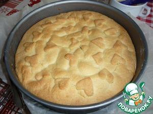Выпекать пирог в разогретой духовке от 180С до 200С 20-25мин, следите за своей духовкой.