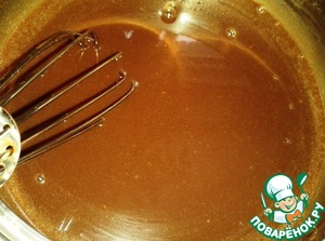 To give the chocolate mass to cool completely.  From time to time it must be stirred.
