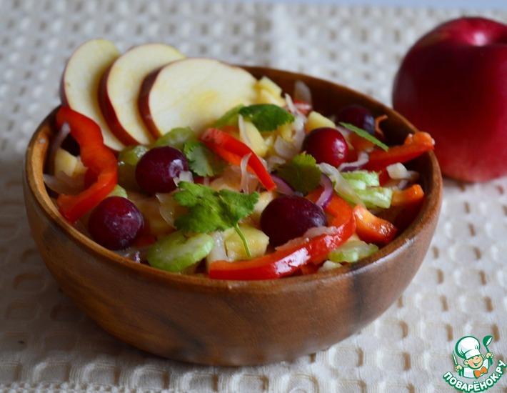 Рецепт: Салат зимний Витаминный