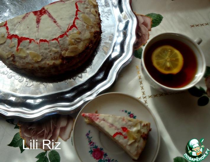 Рецепт: Торт блинный Клубничный