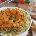 Картофельно-капустный гарнир