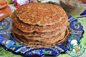 Yield 20 pancakes, 10 - 12 cm in diameter.