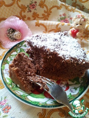 And here, ruslanchik...  Very gentle, chocolate and just melts in your mouth...