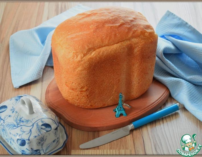 Рецепт: Классический французский хлеб