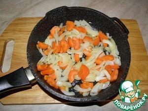 Обжарить на сливочном и растительном масле