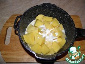 Добавить к картофелю