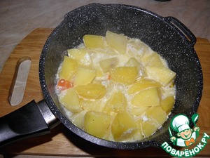 Тушить до готовности картофеля