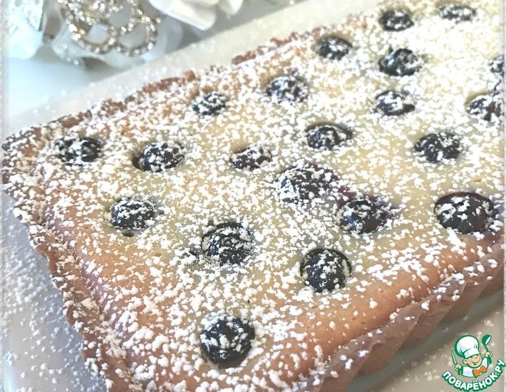 Рецепт: Тарт с рикоттой и ягодами
