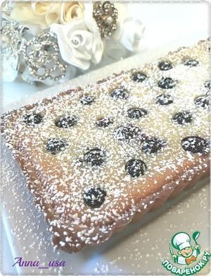 Когда тарт будет готов, дать ему полностью остыть и присыпать сахарной пудрой.