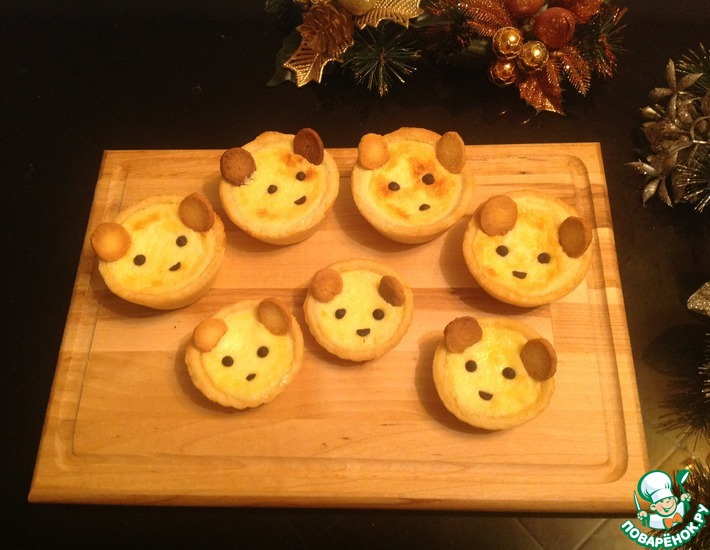 Рецепт: Мини-тарты Медвежонок