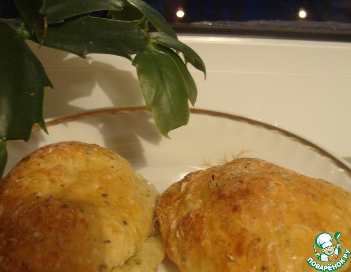 Рецепт: Быстрые творожные булочки