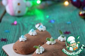 Рецепт: Пирожное Картошка из печенья
