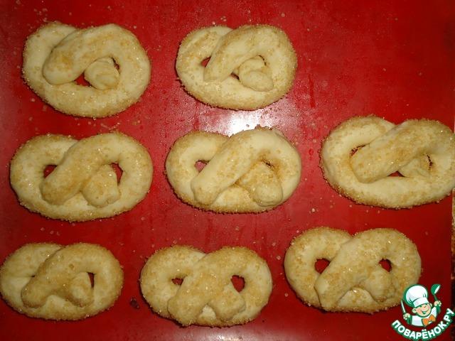 Крендельки на кефире рецепт с фото
