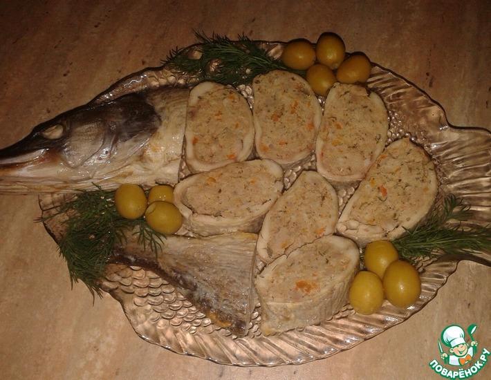 Рецепт: Емелина щука