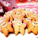 Пряники медовые Рождественские гномы