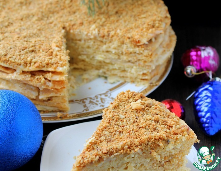 Рецепт: Торт Стёпка-растрёпка