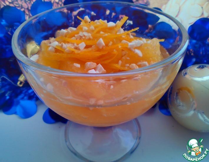Рецепт: Карамельные апельсины