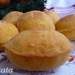 Пирожки из тыквенно-кефирного теста
