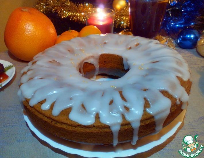 Рецепт: Имбирно-карамельный кекс