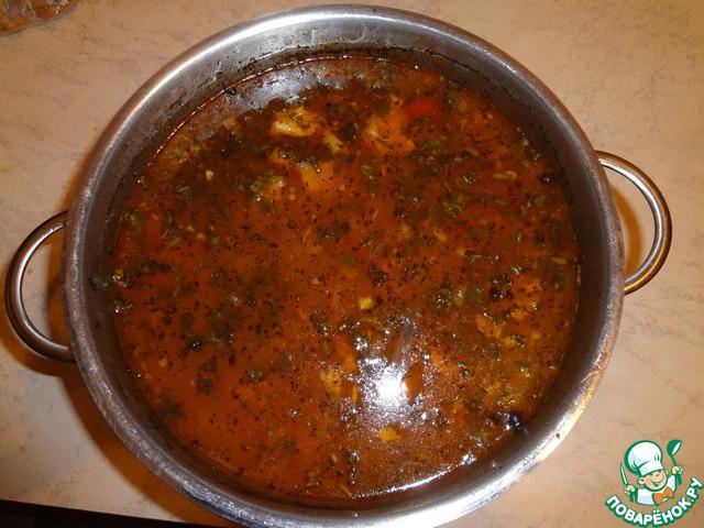 Суп харчо от бабаян