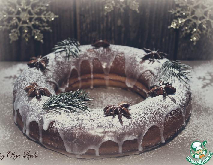 Рецепт: Пряничный кекс