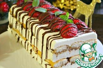 Рецепт: Десерт Рождественский без выпечки