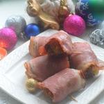 Свиные зразы в беконе Муфточки