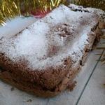 Рождественский безглютеновый кофейный бисквит
