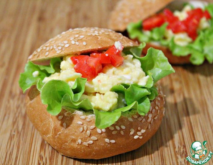 Рецепт: Бутерброд Скрамбл