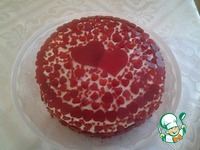 Рубиновый торт ингредиенты