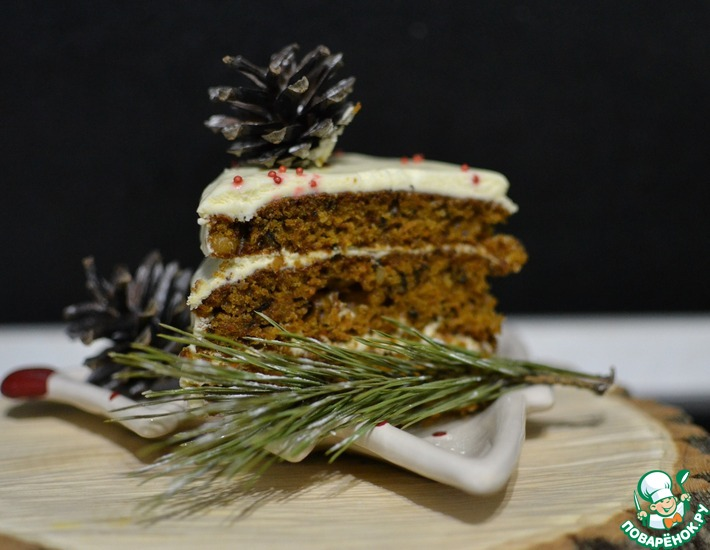 Рецепт: Морковный торт