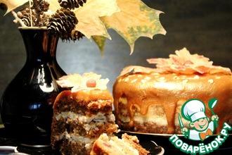 Рецепт: Торт Осень золотая